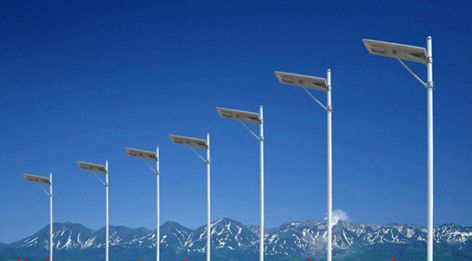 太阳能单火路灯:不消耗常规能源,节能环保、安装方便百色